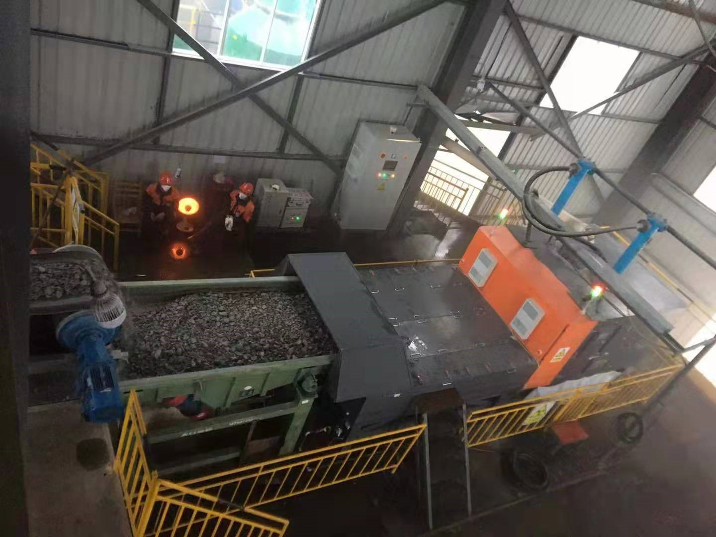 XRT-coal-separation-dry-mineral-ore-X-ray_sorting-by-HOT-Mining-Tech-2